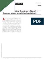 Perfil Do Jornalista Brasileiro Brasileiro