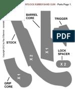 Flintlock Rubberband Gun
