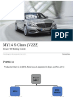 2014 S-Class Order Guide