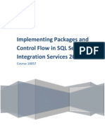 Course 10057 - Implementing Packages and Control Flow in SQL Server Integration Services 2008