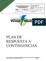 Plan de Contingencias Vetasa-Melecsa