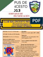 I CAMPUS DE BALONCESTO - Información