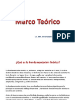 Marco Teorico Ppt