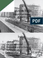 Raquel Caro Belda -Trabajo muro de Berlín
