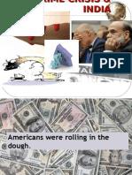 Subprime Crisis & India