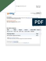 Air Ticket Sample