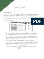 exercices corrigés statistique Descriptive