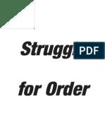 Struggle for Order