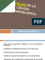 Ventajas y Desventajas de La Cirugia Laparoscopica