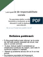 Campanie de Responsabilitate Sociala
