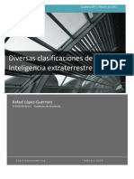 Diversas Clasificaciones de Inteligencia Extraterrestre