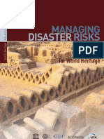 World Heritage Resource Manual - Managing Disaster Risks for World Heritage