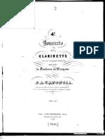 Concierto 4 Para Clarinete D Menor