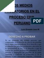 Medios Probatorios en El Proceso Civil Peruano