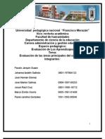 Informe de Evaluacion de Los Aprendizajes 2013 Terminado2