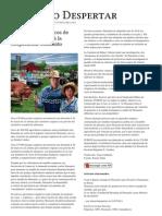El Nuevo Despertar. Agricultores Organicos Estadounidenses Demandan a La Corporacion Monsanto
