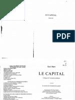 MARX, Karl - Le Capital (Livre 2) french francais