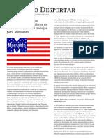 El Nuevo Despertar. Documentos Filtrados Revelan Que Diplomaticos Estadounidenses Trabajan Para Monsanto