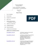 2012-06-19 Regular Council Meeting Agenda