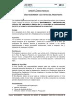 03.01 Especificaciones Tecnicas- Sap