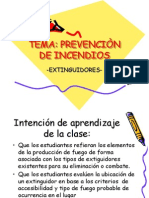 TEMA Prevencion de Incendios Extinguidores