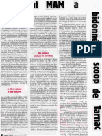 Tarnac - article de G.Dasquié dans Charlie Hebdo