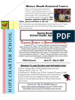 March 2009 Newsletter