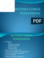 Historia Clinica Periodontal