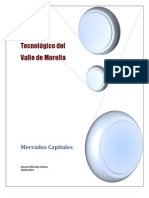 Mercados de Capitales.