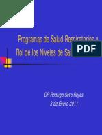 1. R. Soto - Programas de Salud Respiratorios y Rol de Los N