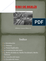 ALFONSO LÁZARO MATA-TRABAJO MURO DE BERLIN