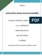 PROYECTO 5ºS GRADOS