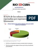 Boletín Diario de Cuba | Del 22 al 28 de mayo de 2013
