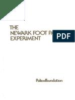The Newark Foot Patrol Experiment