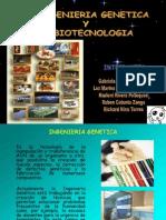Ingenieria Genetica - Biotecnologia