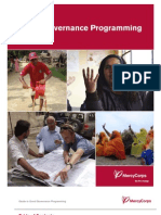 Guide to Good Governance Programming