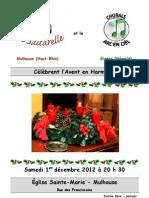 Programme Saltarelle2012!12!01