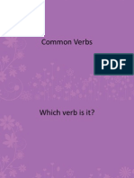 Common Verbs