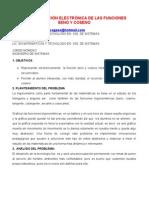 REPRESENTACION ELECTRONICA DE LAS FUNCIONES SENO Y COSENO