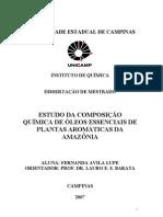 plantas aromáticas da amazonia