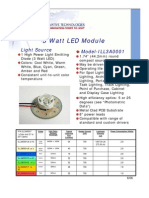 Datasheet LED