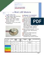 Datasheet LED