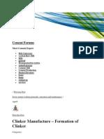 Clinker Manufacture - Clinker Formation .docx