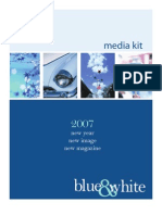 Blue & White Media Kit