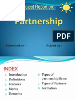 Partnership Firm ppt