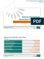 Suncorp Group Investor Day Presentation ASX - Final