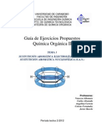 Tema 1. Guía de ejercicios cátedra QOII