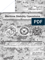 Maritime Stability Operations (2013),