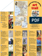 Queens Birthday Art Trail Brochure