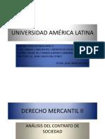 Unidad 3 Derecho Mercantil II